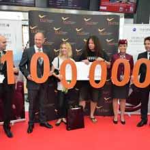 Rekord: Egymillió utas júliusban Ferihegyen